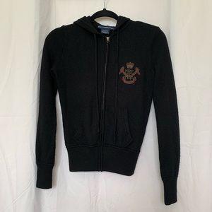Ralph Lauren zip up sweater